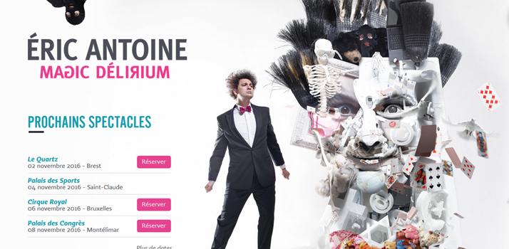 Eric Antoine, magicien célèbre